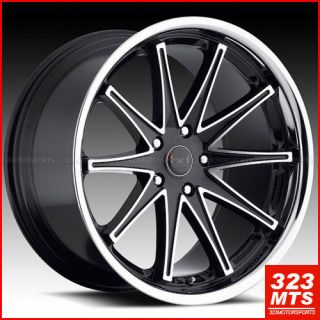 E500 E550 Wheels Blaque Diamond Dust V2 Rims Mercedes Benz Rims