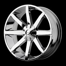 22 KMC Slide Rims Wheels Chrome 22x9 5 38 5x150