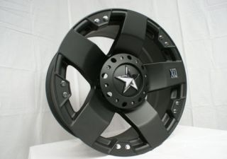 20 inch XD Rockstar Wheels Rim Tire Package 285 50