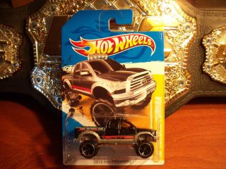 New 2012 Hot Wheels 10 Toyota Tundra Truck Black Premiere Diecast 40
