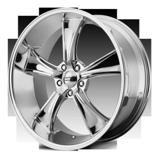 Racing BLVD VN805 5 Lug Chrome Wheels Rims 4 New FREE Lugs Stems