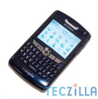 RIM Blackberry 8800 GPS QWERTY Quad Band Unlocked GSM Phone AT T Blue