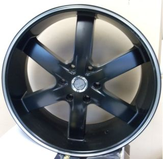 24 INCH 55 FB RIMS AND TIRES AVALANCHE ESCALADE TAHOE H3 SILVERADO