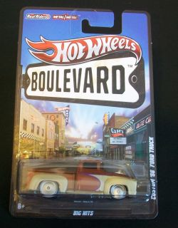 New 2012 Hot Wheels Boulevard Series Custom 56 Ford Pickup
