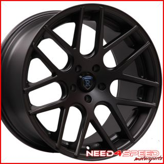 SL550 SL600 SL55 SL600 SL Rohana RC26 Concave Black Wheels Rims