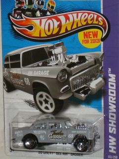 Hot Wheels 55 Chevy Bel Air Gasser ★ 2013 HW Showroom VHTF