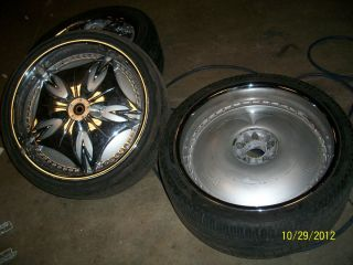 22 Dub Spinners Floaters Wheels Rims Tires