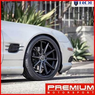 20 MERCEDES BENZ CLS500 CLS550 CLS63 ROHANA RC10 CONCAVE WHEELS RIMS