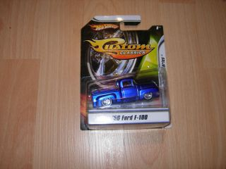 Hot Wheels Custom Classics Fresh Paint 56 Ford F100