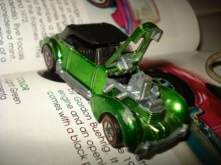 1971 Mattel Hot Wheels Redlines Light Green Classic Cord EXTREMLY RARE