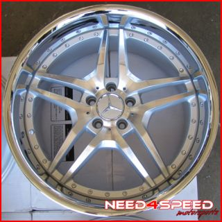 Benz W220 S350 S430 S500 S65 Roderick RW2 Staggered Wheels Rims