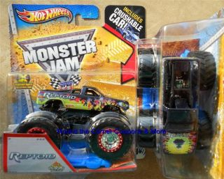 Spectraflames Hot Wheels Monster Jam 1 64 Scale Truck Crush Car