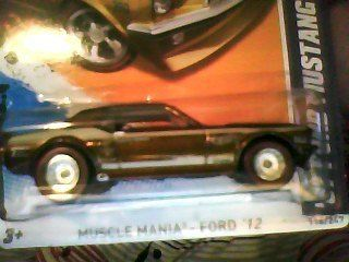 Hot Wheels 2012 Super Treasure Hunt VHTF 67 Ford Mustang Coupe
