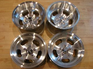 5x4 75 70s RI Ansen Sprint Slot Mag Rims Wheels Olds Chevy GM Pontiac