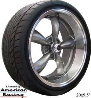 18f 20r GRAY REV CLASSIC WHEELS & NITTO NT555 TIRES FOR MONTE CARLO