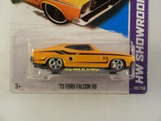 2013 Hot Wheels #198 73 FORD FALCON XB CUSTOM Super Treasure Hunt w