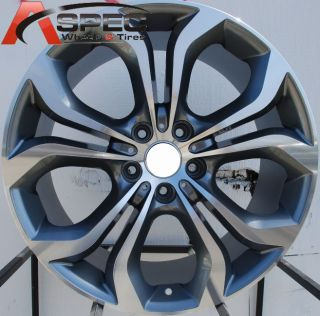 Style Staggered Wheels 5x120 Rims 74 1 Hub Fits BMW x5 X6