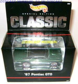 1967 67 Pontiac GTO Classic Hills Hot Wheels Very RARE