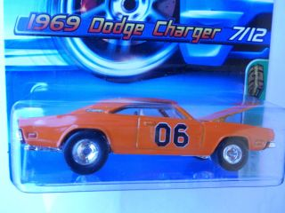hot wheels treasure hunts 69 Dodge Charger real riders tires super