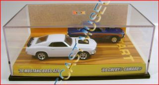 1969 69 Chevy Camaro 1970 70 Ford Mustang Boss 429 Set Hot Wheels