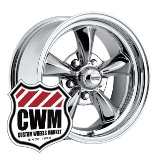 15x7 15x8 Chrome Wheels Rims 5x4 75 for Chevy Impala 1968