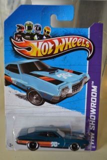 2012 Hot Wheels 72 Ford Gran Torino Sport Super Treasure Hunt in