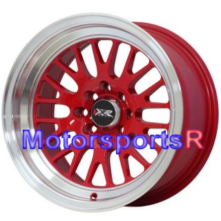 XXR 531 RED 20 Rims Wheels Deep Dish Lip Stance 4x4 5 71 73 Datsun 510