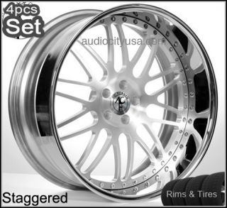 20inch AC Forged Wheels and Tires Pkg for BMW 3pc Forged Rims