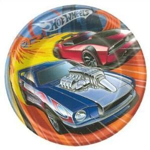 Hot Wheels High Speed Party Supplies 9 Dinner Plate