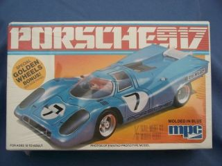 MPC PORSCHE 917 SEALED MODEL CAR KIT NOS MINT NIB #905