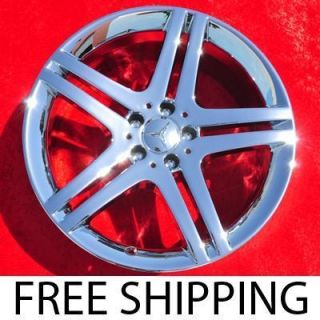 Mercedes Benz SL550 SL600 Chrome Wheels Rims NH1257 Exchange
