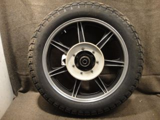 79 Yamaha XS750 XS 750 Special Wheel Rear Rim Tire C21