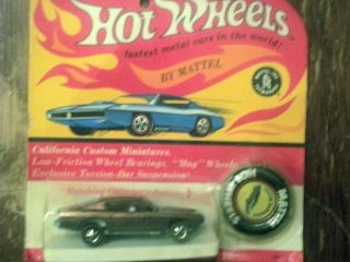 Vintage 1967 Hot Wheels Mattel Barracuda Toy Car Cuda New SEALED