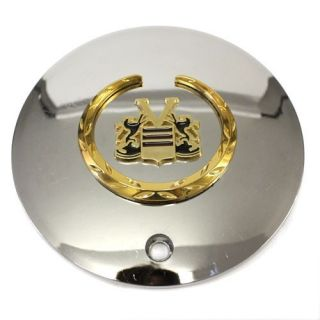 Vogue MHT Cadillac Wheels Center Cap Chrome Gold 2160