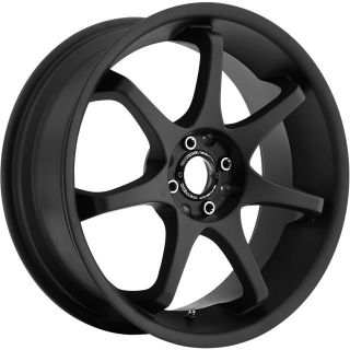 18 inch Motegi MR125 Black Wheels Rims 5x4 5 Nitro Caliber Intrepid