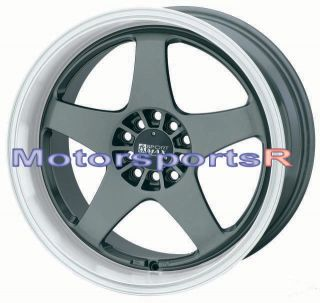 18 XXR 962 Gun Metal Staggered Rims Wheels 5x114 3 90 91 95 96 Nissan
