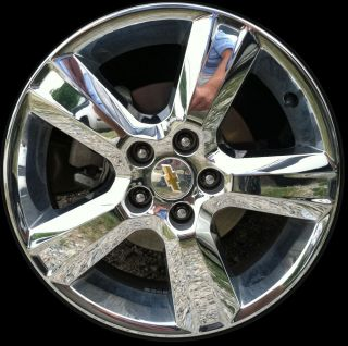 Brand New 17 2010 2011 Chevrolet Malibu Chrome Clad Alloy Wheel Rim