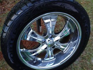 22 inch Wheels and Tires Fit Dodge RAM Nice Rims