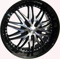 20 Forte F54 Rims Fits Ford Chevy Dodge Cars Trucks
