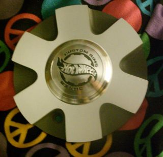 New Hot Wheels Revolution Custom Rims Wheel Center Cap by KMC 6 7 8