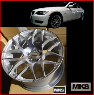 MKS19X8 5 10J 5x120 Staggered Concave Wheels BMW E90 E92 F30 325i 328i