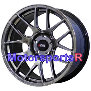Chromium Black Wheels Rims Concave Staggered 99 04 Mustang GT Cobra
