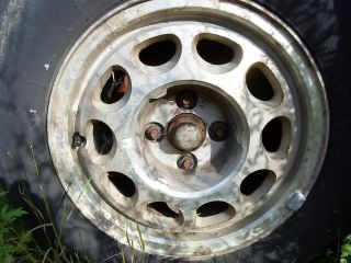 85 86 87 88 89 90 91 92 93 Ford Mustang Wheel 15x7 Alum C Condition