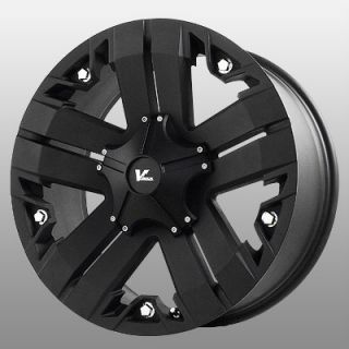 17 inch V Rock Recon Black Wheels Rims 6x135 F150 Expedition Navigator