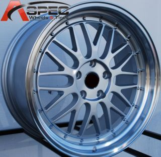 19 LM Style Staggered Wheels 5x120 Rim Fits BMW E90 E92 325 2006 2012