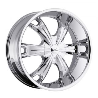 18 inch Milanni Stellar Chrome Wheels Rims 5x115 18