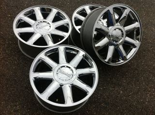 Denali 1500 Silverado Escalade 20 22 Stock Chrome Wheels Rims