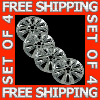 18 Chrome Wheel Skin Hubcaps Cover Hub Cap Free SHIP Fits 11 12