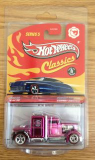 2009 Hot Wheels Classics Series 5 26 Chase Pink Convoy Custom
