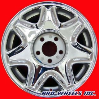 ELDORADO SEVILLE 16X7 CHROME FACTORY ORIGINAL WHEEL RIM 4521 40139
